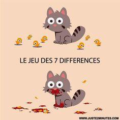Chercher les 7 différences. ( Très gore mais un peu drôle quand-même... )