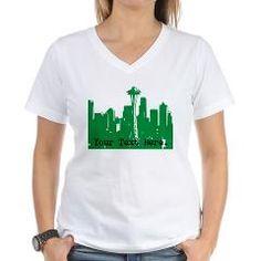 Seattle Skyline Personalizable t-shirt