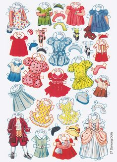 Paper Dolls~27 Dancing School Paper Dolls - Bonnie Jones - Picasa Web Albums