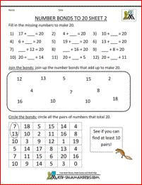 number bonds worksheet to 10  Google keress  Matematika 2