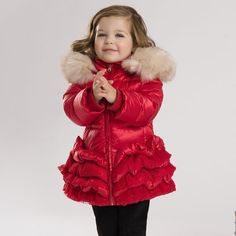 dave bella 2015 winter infant coat baby padded jacket girls padded coat girls down coat down jacket Baby Winter, Winter White, 2015 Winter, Girls Down Coat, Kids Winter Jackets, Feather Coat, White Ducks, Duck Down, Kids Fashion