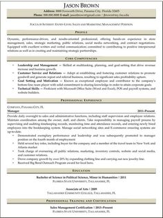 Sales And Marketing Resume Templates Sales Resume Examples Resume  Professional Writers