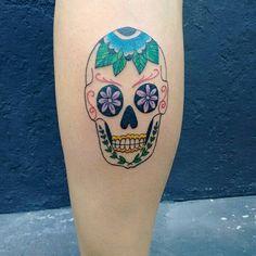 #tattoo #tatuagem #tattoos #tatuagensfemininas #tatuagemfeminina #tattoosp #caveiramexicana #mexicanskull #color #tattoo2me #tattoofinder #tattoosforgirls #ink #tattooinspiration #inspirationtatto #sp #zonasul #011 #stephanieumeda #tattooartist #art #sigalaschicas #electricinkbrasil #electricink #pfmachines #slctattoo #ehimenso #estudios #instacool