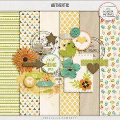 Authentic mini kit freebie from Digital Scrapbook Ingredients