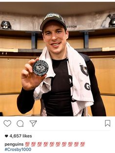 1000 points for #SidneyCrosby! Feb 16, 2017 #PittsburghPenguins