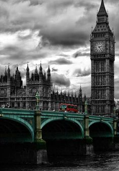 Big Ben and Westminster Bridge, London, U& - by Dave McEllistrum on 500px