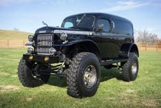 jeeps and trucks