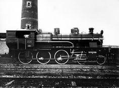 Locomotiva a vapore, ferrovie nord milano Steam locomotiv, FNM