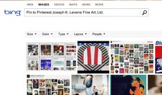 Bing adds Pin to Pinterest, new Pinterest partnership ★ Visit #Bing Image Search for #PintoPinterest, which lets users pin directly to #Pinterest ★  Pin images to Pinterest from #JosephKLeveneFineArtLtd   http://pinterest.com/JKLFA