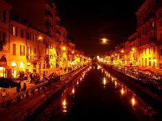 Milan's Canal District, Milan, Italy