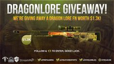 Want to win a Dragon Lore FN worth $1.3k?   giveaway