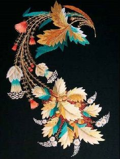 Silk and metal embroidery: a correspondence course from the Embroidery Guild of America