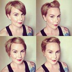 mama mandolin: Answering Hair Questions. shows the versatility of her short hair which gives me confidence to chop it off and copy her styles.