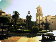 Plaza Alta. Algeciras, Spain.  Algeciras birth place of both my mum and hubby