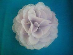 Blog da Kelli: Flor de TNT - passo a passo