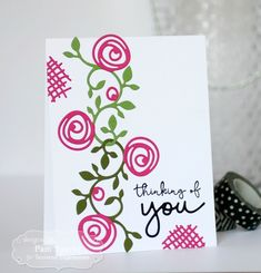 Tarjeta de Bloomers Verdor por Pam Sparks