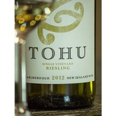 Tohu, Riesling, Single-Vineyard, New-Zealand