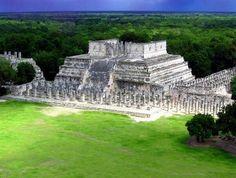 Templo de los Guerreros, Chichen Itza, Yucatán