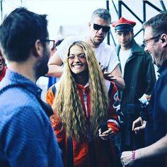 #secondlook of the #day @ritaora #ritaora @bbcradio1 #bigweekend #makeup @misscassielomas #styling @kyledevolle #hair @lewis_pallett @eighteen_mgmt #hairbyme #hairbylewis #caughtinaction #workinghard #actionshot #mermaid #mermaidhair #celebrity #celebrityhair #music #musicartist #singersongwriter #singer #supercool #waves #superlonghair #longhairdontcare #love http://tipsrazzi.com/ipost/1524898830519199518/?code=BUph2g3gWce