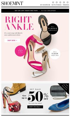 Shoemint Newsletter