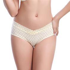Mulheres algodão confortável Dots calcinhas Briefs Knicker Lingerie grávidas mãe M XXL em Moda Íntima de Mamãe e Bebê no AliExpress.com | Alibaba Group