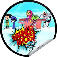 Roxy Terra's Teen Titans Go at Comic-Con 2013 Sticker | GetGlue