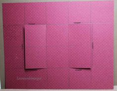 Tuto / Carte swing Carte Swing, Swing Card, Pop Up Art, All Paper, Kirigami, Embossing Folder, Card Templates, Mini Albums, Diy And Crafts