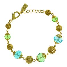 1928 Jewelry Gold Tone Aqua And Green Beaded Bracelet Adjustable Beach Jewelry, Gold Jewelry, Vintage Jewelry, Chic Fashionista, Aqua Color, Jewelry Companies, Jewelry Packaging, Jewelry Collection, Vintage Inspired