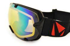 STAGE Large Stunt Goggle Lens - Amber/Yellow Revo