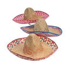 Adult's Embroidered Sombreros - OrientalTrading.com - $25 per dozen