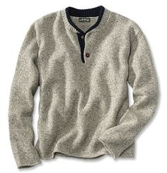 Orvis Two-Button Wool Sweater