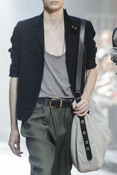 Detailed photos of Lanvin Spring / Summer 2016 men's