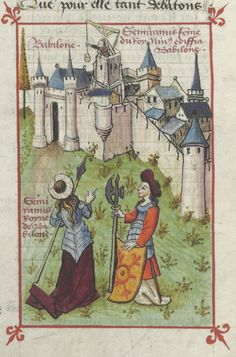 « Le Champion des Dames, » par « MARTIN LE FRANC, prevost de l'église de Lausane. » (1440).   Gallica