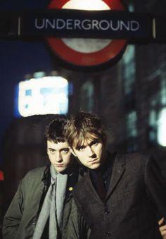 Graham Coxon and Damon Albarn.