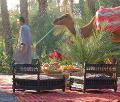 Jnane Tamsna Marrakech, Morocco: exquisite hideaway offering understated style, pampering and cultural insights. i-escape.com