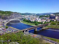 Ústí nad Labem Prague, Czech Republic, Lab, River, Country, City, Places, Outdoor, Beautiful