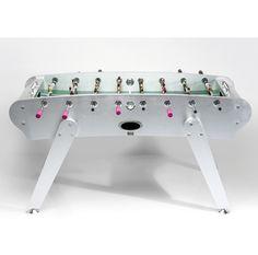 Mesa de Pebolim Designer: Peter Shanhofen Material: MDF, aço inoxidável e plástico Medidas: 170 X 73 X 89 http://www.marcheartdevie.com.br/produtos/acessorios/mesa-de-pebolim-girls-x-boys/