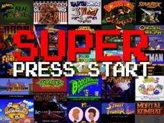 Super Press Start: A Compilation of EVERY SINGLE #SuperNintendo Start Screen Ever