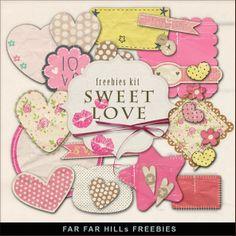 Scrapbooking TammyTags -- TT - Designer - Far Far Hill,  TT - Item - Journal Space, TT - Theme - Love, Valentines, or Wedding