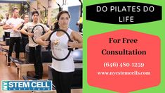 A New York Pilates Ring is a circle with 2 handles on the edges. It may be placed between the hands to work out the upper body or between the thighs for an extra exercise. For Free Consultation: Pilates Nyc, Pilates For Men, Pilates Ring, Pilates Moves, Pilates Body, Pilates Workout, Pregnancy Pilates, Plate, Stem Cells