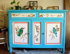 Diy Painting, Painting On Wood, Diy Interior, Interior Decorating, Furniture Makeover, Diy Furniture, Do It Yourself Decorating, Hand Painted Furniture, Painting Furniture
