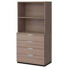 GALANT Storage combination with drawers - gray - IKEA