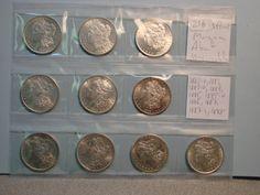 #coin #coins #morgan #silver #collectibles #auction #auctionnv #nevadapublicauction