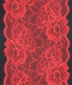 Red Lace Pattern | red lace