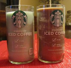 Hey, I found this really awesome Etsy listing at https://www.etsy.com/listing/159896288/starbucks-iced-coffee-candles-repurposed