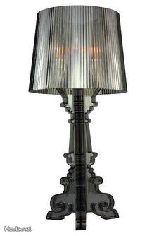 Gray table lamp / Harmaa pöytälamppu