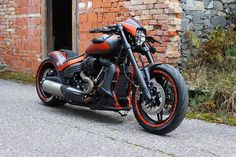 Awesome custom bike Harley Davidson FXDR 114 2019 Custombike by Cult-Werk Harley Davidson Chopper, Harley Davidson Museum, Classic Harley Davidson, Harley Davidson Street Glide, Harley Davidson Motorcycles, Davidson Bike, American Motorcycles, Old Motorcycles, Custom Harleys