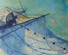 "Daily Paintworks - ""Lady Washington No. 2"" - Original Fine Art for Sale - © Judith Elder"