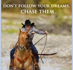 It's that never give up, never stop riding spirit!