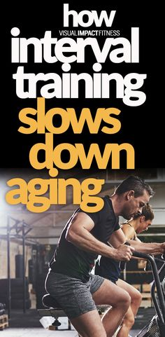 HIIT and circuit style training has been popular for years. It's a great way to get lean, but new research also shows it slows aging on a cellular level.  #antiaging #hiit #intervaltraining #crossfit